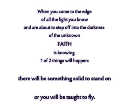 faith is knowing