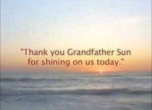grandfather sun