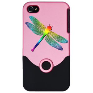 rainbow colored insect