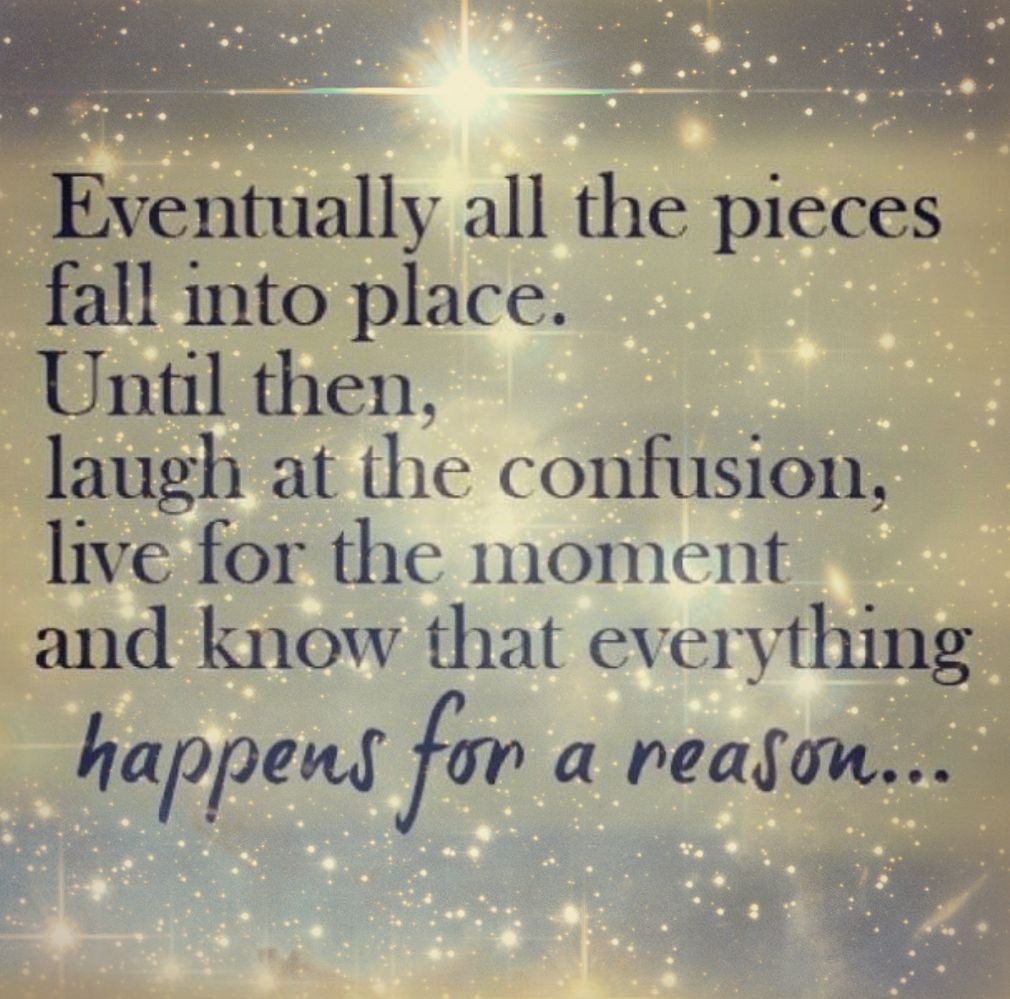 Everything Happens For A Reason Earthengirl