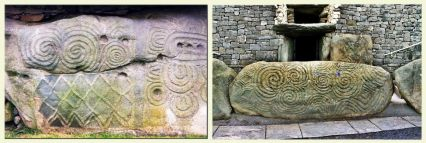 Newgrange Ireland pictures found on line.