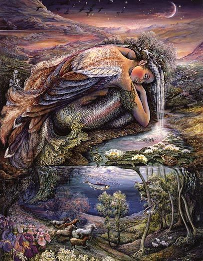 mer people by josephine wall