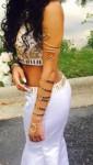 snake arm cuff