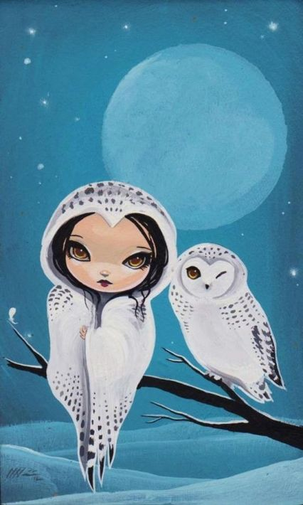 girl-and-owl-by-jasmine-becketgriffith